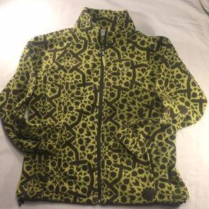 Columbia zip front fleece jacket sweatshirt sz 1X